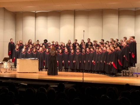 Choir shows dedication to singing