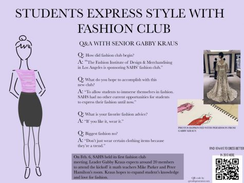 Fashion club set to kick off second semester
