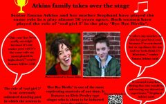 Atkins family takes over stage
