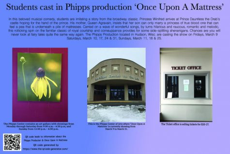 Students cast in Phipps production 'Once Upon A Mattress'