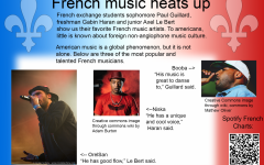 French exchange students reveal favorite musicians
