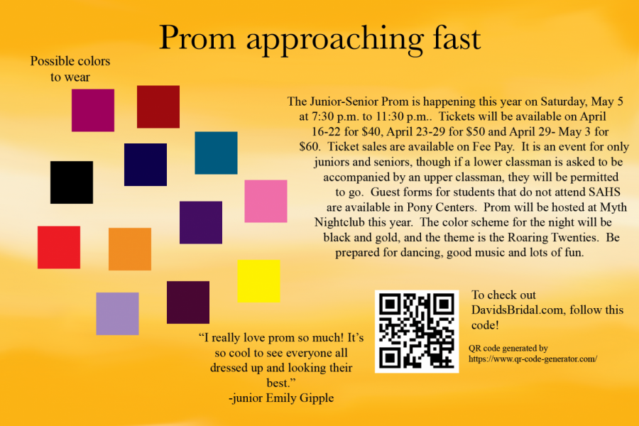 Prom committee plans for a night in the roaring twenties