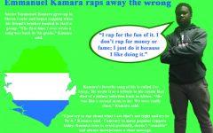 Kamara uses his talents to create music