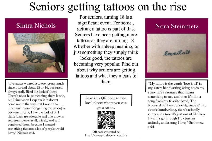 High school tattoos become more widespread