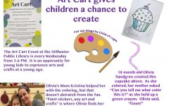 Art Cart gives children a chance to create