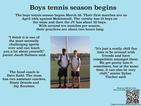 Boys tennis ready for run to state tournament