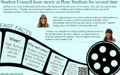 Football field movie night brings students together