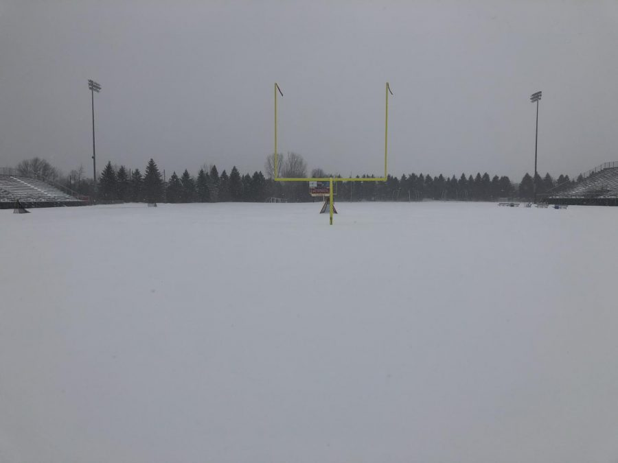 Snowiest April ever delays spring sports season