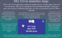 HQ Trivia launches large
