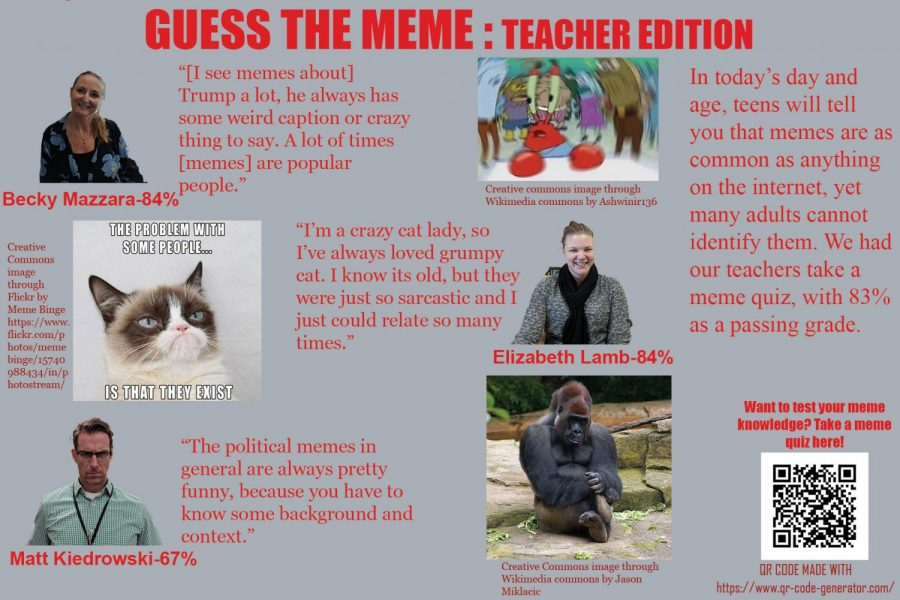 Teachers learn about memes, share reactions