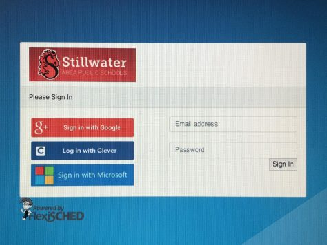 FlexiSCHED has students log in with their school email to track attendance.