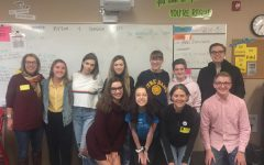 Young Democrats meet weekly on Wednesday mornings to discuss current events and political issues. Michael Wilhelmi came to speak to the Young Democrats on the morning of Oct. 10 to influence the Young Democrats to get involved and help out the Tim Walz Campaign.