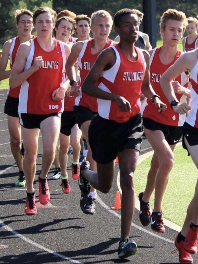 Cross country runners go extra mile
