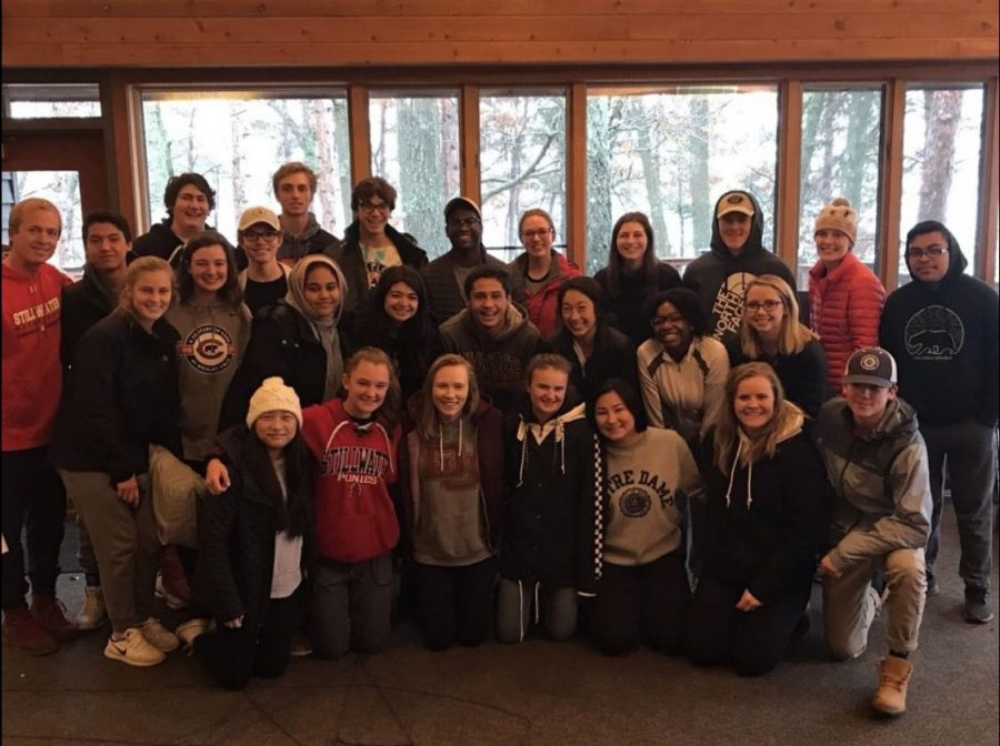 Peer Helper Group retreat builds student-to-student companionship