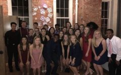 Student Council attends winter Snoball on Jan. 20, 2018. Student Council enjoyed the dance they worked so hard to create.