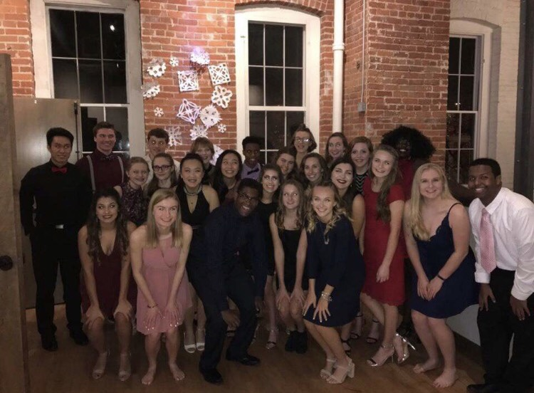 Student+Council+attends+winter+Snoball+on+Jan.+20%2C+2018.+Student+Council+enjoyed+the+dance+they+worked+so+hard+to+create.+