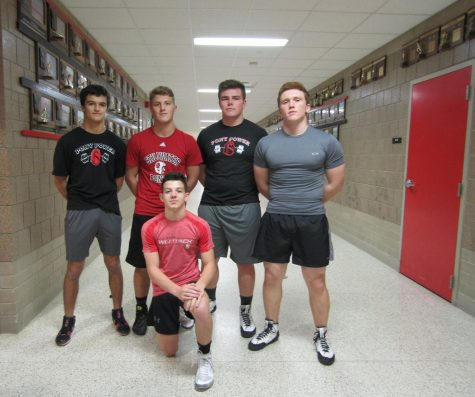 Wrestling team: pins a spot at State