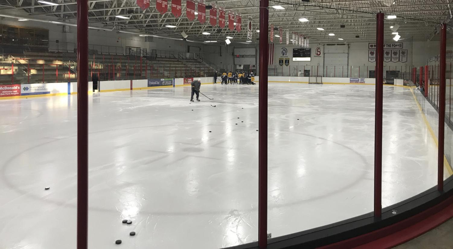 Stillwater Rec Center always at use with teams occupying space for practice. 19U team now practices here.