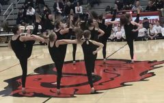 The chavels performed Feb. 8. During halftime at the varsity boys basketball game. Along with them were junior dancers from around  the community.