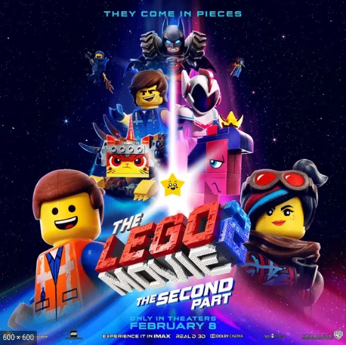 'The Lego Movie 2: The Second Part' came out Feb. 8. It was well received, but not as good as the first.
