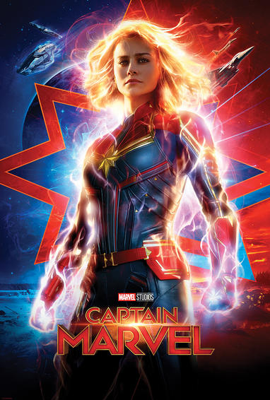 """Captain Marvel"" drew $456.7 million its first weekend in theaters, the sixth biggest release of all time. The movie is expected to reach $1.1 billion finish and position the Marvel Comics Universe for another record setting year at the box office as they have four more movies to be released in 2019 including the highly anticipated ""Avengers: Endgame."""