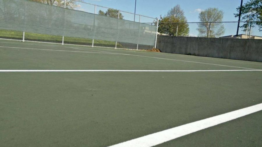 Boys tennis is ready to start up the new season on the recently melted courts.  The boys will be able to play outside and not have practices canceled as often.