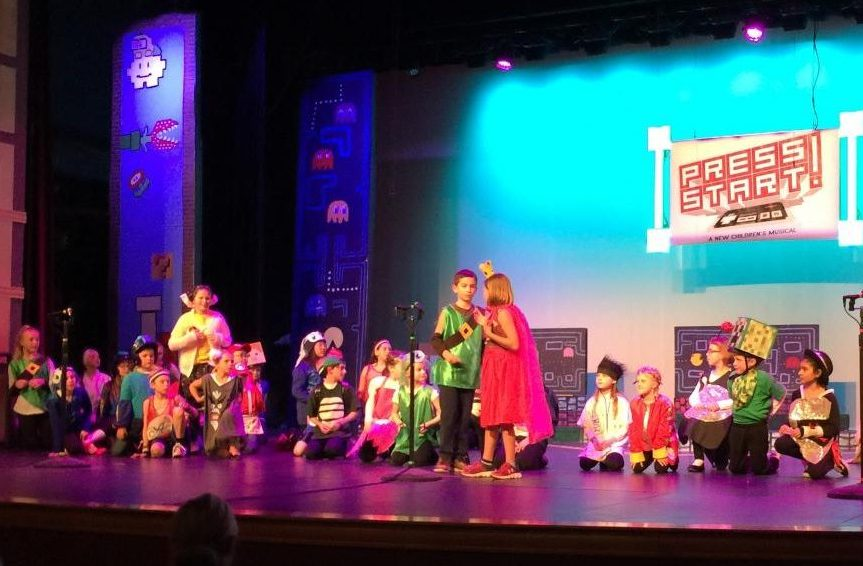 St. Croix Prep student actors take the stage for the production