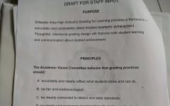 Academic Vision team proposes new grading policy draft