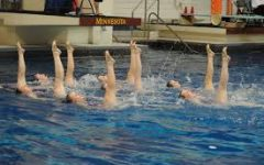 Girls synchronized swim team tries to stay in sync with past history