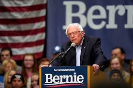 Presidential candidate Bernie Sanders speaks to thousands of Americans about how the US should be tuition free. Sanders believes tuition is discouraging some Americans from advancing to the next level of their education at college.