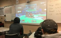 Brawling it out: students compete in video game competition