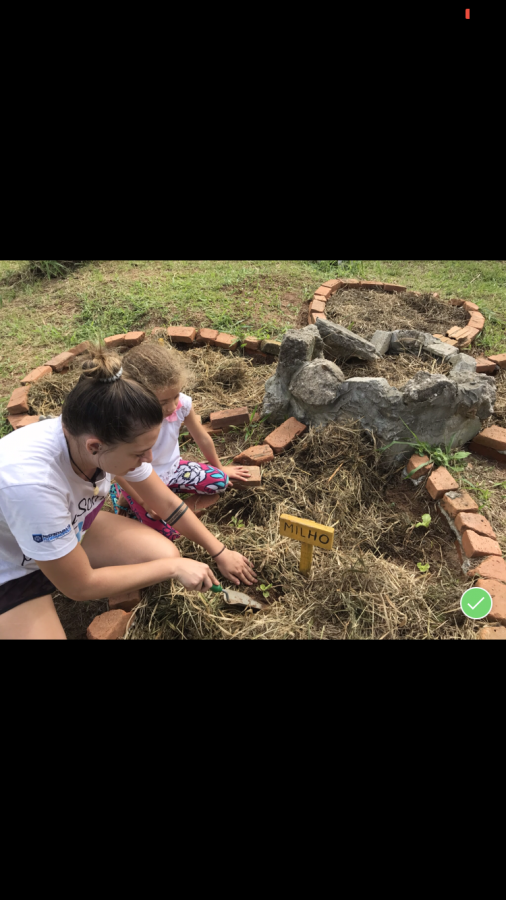 Sintra Nichols a 2018 SAHS graduate who did an apprenticeship in Florianopolis, Brazil. Nichols worked at a preschool and help aid for the betterment of the school.