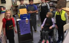 Coffee cart sales teach valuable skills to special education students