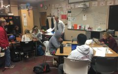 AVID teacher Brandon Maxwell teaches his students valuable study skills to prepare for college. College prep is a focus of the class. A majority of AVID students end up getting accepted to their college of choice.