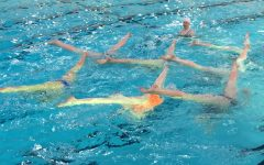 Synchronized swimming goes to State