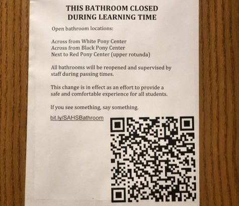 Students 'pee'ved over new bathroom security policy