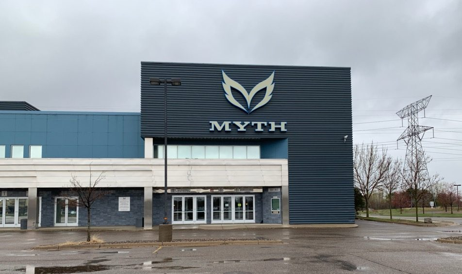 Myth Live remains empty on a Wednesday night. This is expected because no concerts were occurring that night.