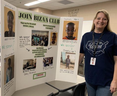 BIZAA club helps children thousands of miles away