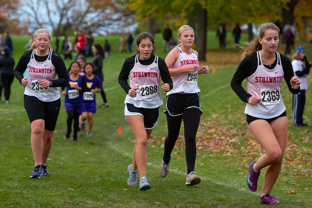 Girls take on a long hard race at the Section 4AA meet. Results of meet show who is going to state.