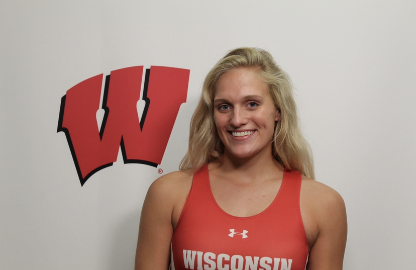 Senior Avery Wright who is a part of the Minnesota Boat Club and swimming team. She commits to University of Wisconsin-Madison for rowing.