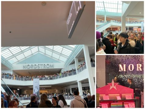 Nov. 2, fans line up outside the Morphe store at the Mall of America for a chance to get to see Shane Dawson and Jeffree Star. Over 75,000 people lined up while only 250 people got to meet the duo.