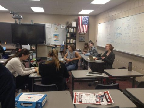 The debate team works hard before their first match on Nov 9. The first match sets standards for the rest of their season as they try to find ways to stay in the top 10 percent of teams nationally.