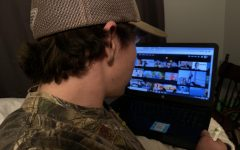 Stillwater graduate Mitchell Langness browses Netflix suggestions to find a new show. He has already binge-watched a few shows and his addiction leads him to search for a new one.
