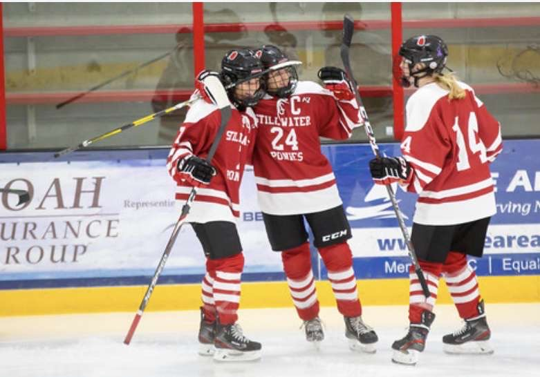 Girls hockey team hits ice hoping to improve their game