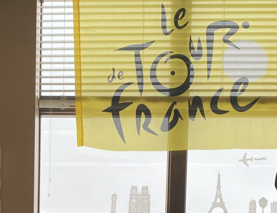 French teacher Jackie Parr's classroom is decorated from floor to ceiling with flags, posters and other items that clearly display her love of the language. Her lively way of teaching and caring attitude towards students allow them to share her same passion and recognize the benefits of pursuing the education another language.