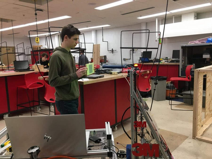 Robotics team, Armada, starts build season to prepare for competition