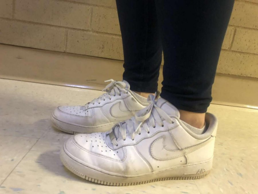 Nike Air Force 1's gain their way to fame