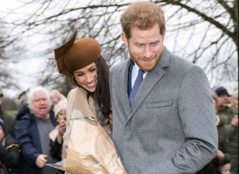 Meghan Markle and Prince Harry attend church with the royal family in 2017. The announcement of Prince Harry and Megan Markle
