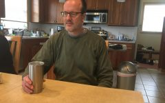 Paul Elletson was drinking his daily morning coffee. He drinks it every morning to get a nice start to the day.