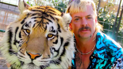 Joe Exotic with one of his tigers. Exotic has recently gone to prison on murder for hire charges.